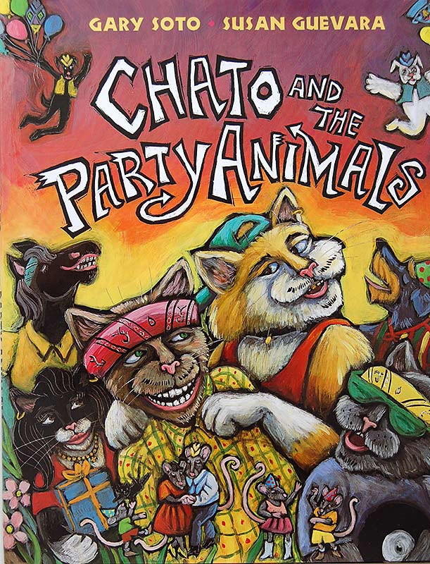 Susan Guevara, Chato and the Party Animals, Gary Soto,
