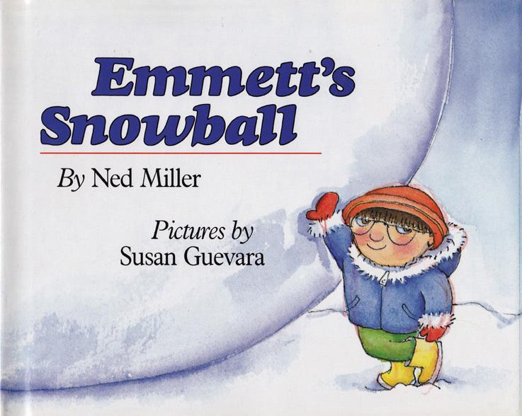 Susan Guevara, Emmett's Snowball, children's picture book, Henry Hold1990