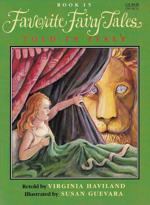 Italian Fairy Tales, Virginia Hamilton, Susan Guevara