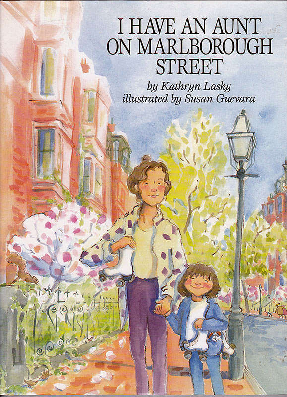 Susan Guevara-I Have an Aunt on Marlborough Street, picture book cover